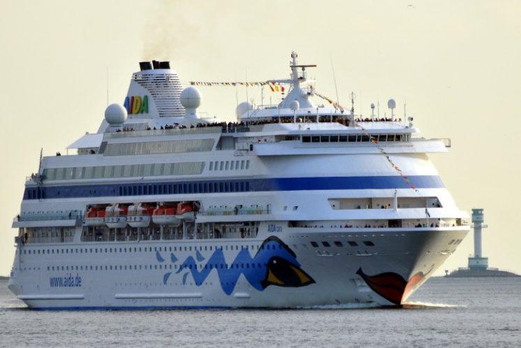 AIDAcara Hafen Kiel