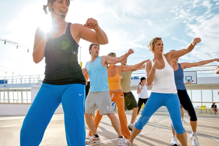 AIDAdiva Body und Soul Sport