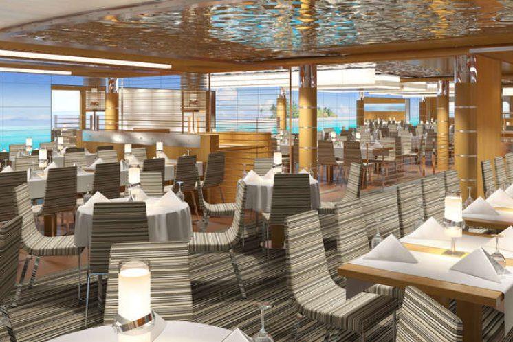 AIDAnova Yachtclub Restaurant
