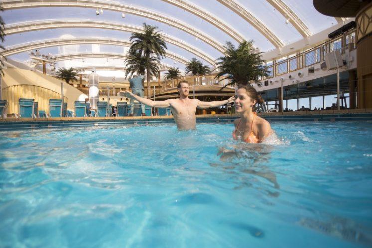 AIDAprima Pool