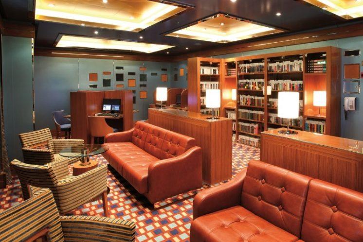 Costa Deliziosa Bibliothek