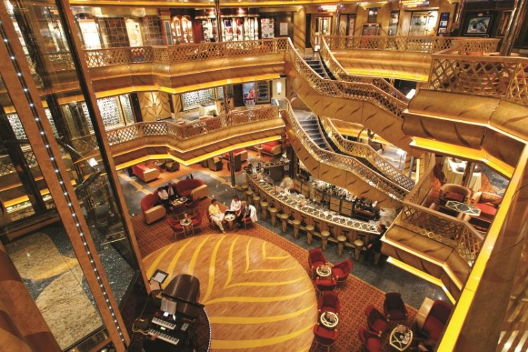Costa Magica Lobby