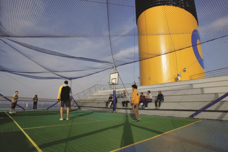 Costa Magica Sportplatz