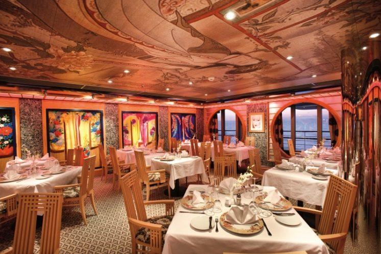 Costa Pacifica Samsara-Restaurant