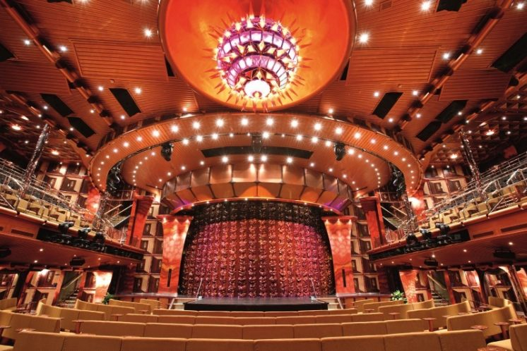 Costa Pacifica Theater