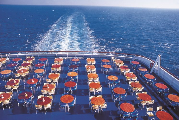 Costa Victoria Deck