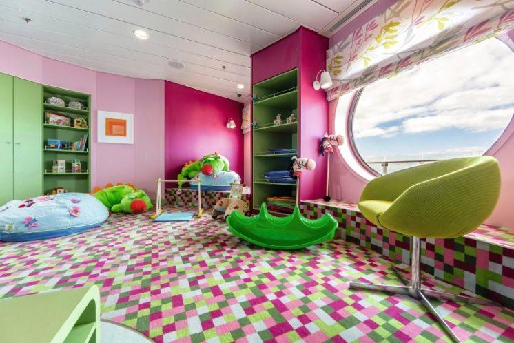 TUI Cruises Mein Schiff 3 Babyzimmer