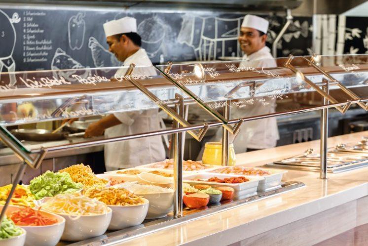 TUI Cruises Mein Schiff 3 Buffetrestaurant