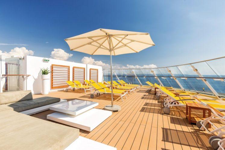 TUI Cruises Mein Schiff 3 Sonnendeck