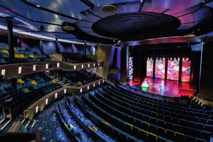 TUI Cruises Mein Schiff 3 Theater