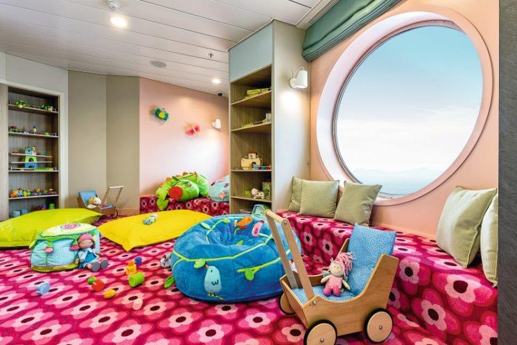 TUI Cruises Mein Schiff 4 Babyzimmer