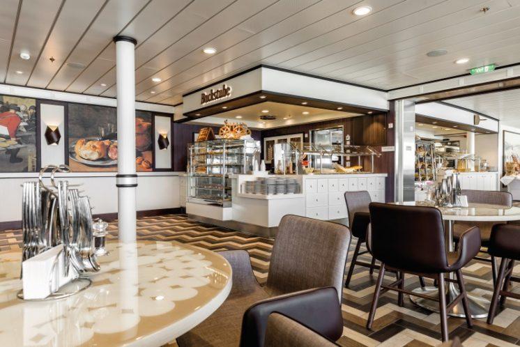 TUI Cruises Mein Schiff 5 Backstube