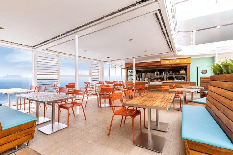 TUI Cruises Mein Schiff 5 Snackbar