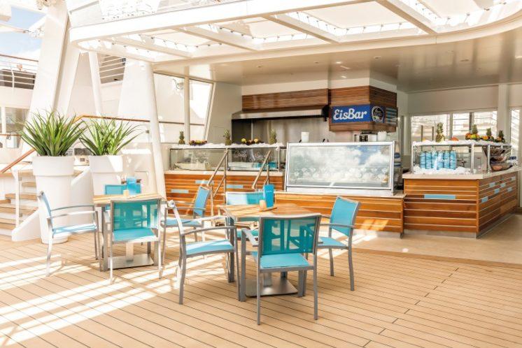 TUI Cruises Mein Schiff 5 Eis Bar