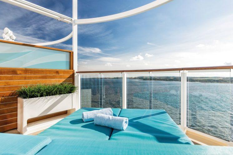 TUI Cruises Mein Schiff 5 Entspannungslogen