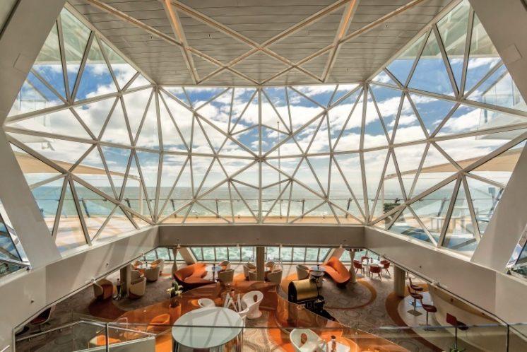 TUI Cruises Mein Schiff 5 Glaskuppel