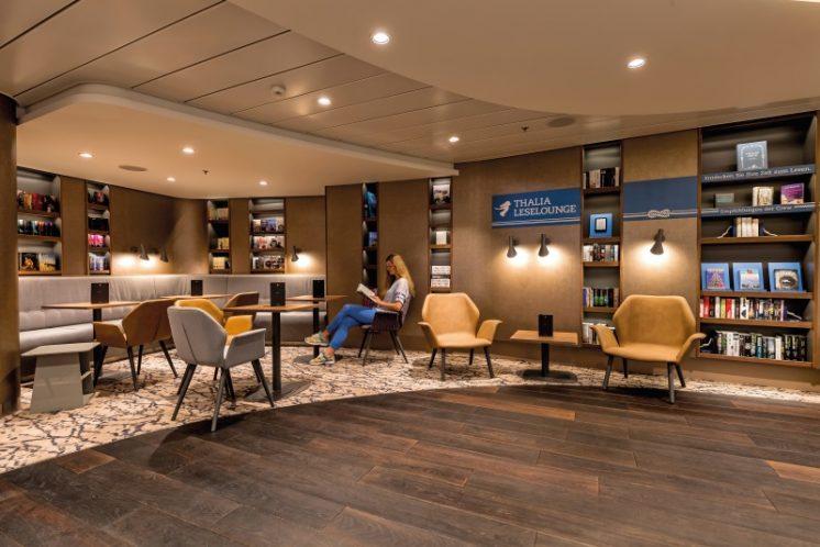 TUI Cruises Mein Schiff 5 Thalia-Leselounge