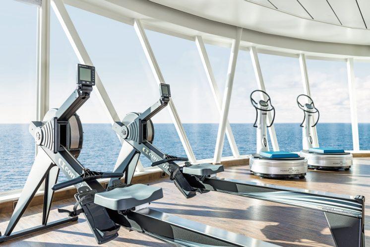 Mein Schiff 6 Fitnesscenter