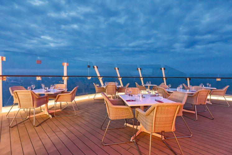 Mein Schiff 6 Restaurant Gosch