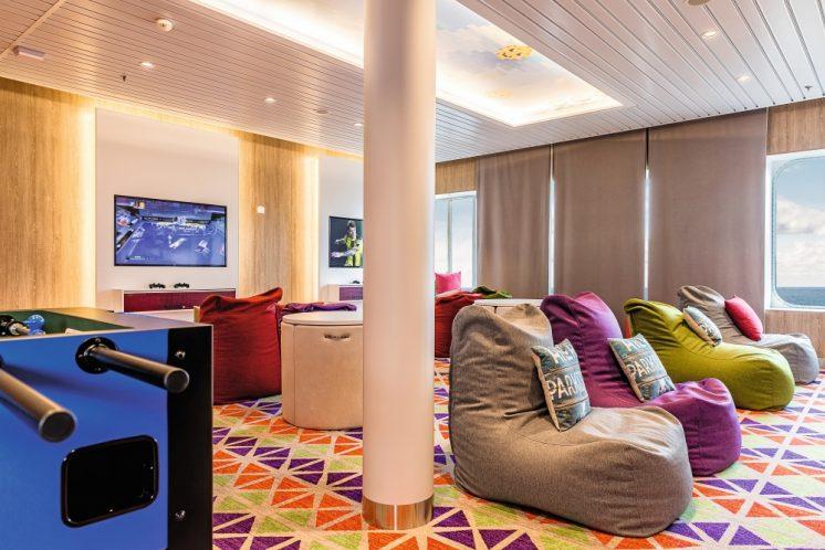 Mein Schiff 6 Teens-Lounge