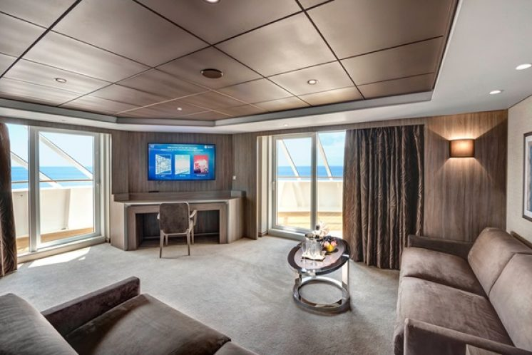 MSC Grandiosa MSC Yacht Club Royal Suite