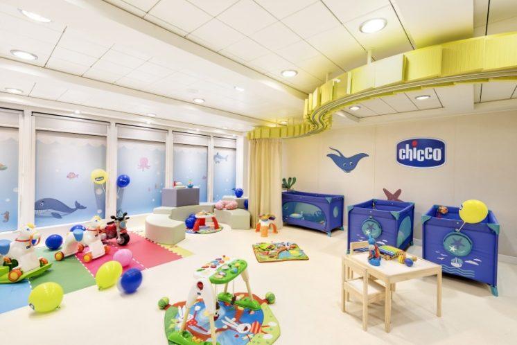 MSC Armonia Baby-Club