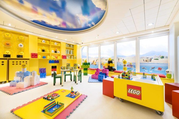 MSC Armonia Kinder Legobereich
