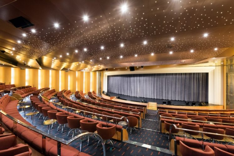 MSC Armonia Theater