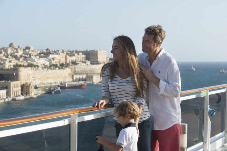 MSC Seaside Familie