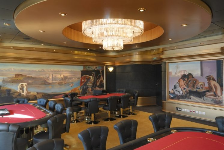 MSC Fantasia Pokerraum