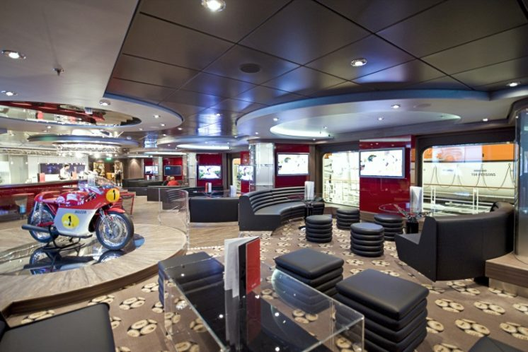 MSC Fantasia Sports Bar