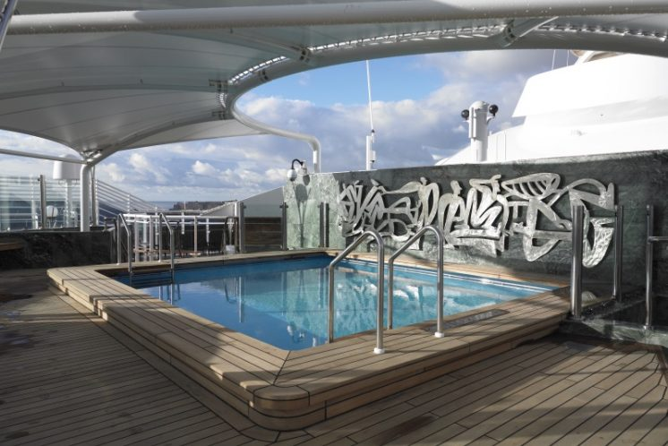 MSC Fantasia MSC Yacht Club Pool
