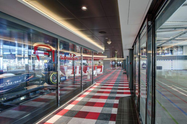 MSC Grandiosa F1 Simulatoren