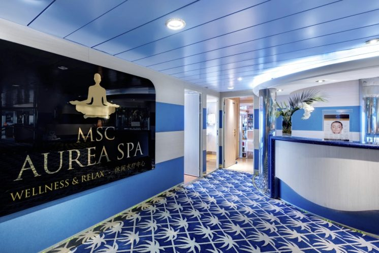 MSC Lirica Aurea Spa