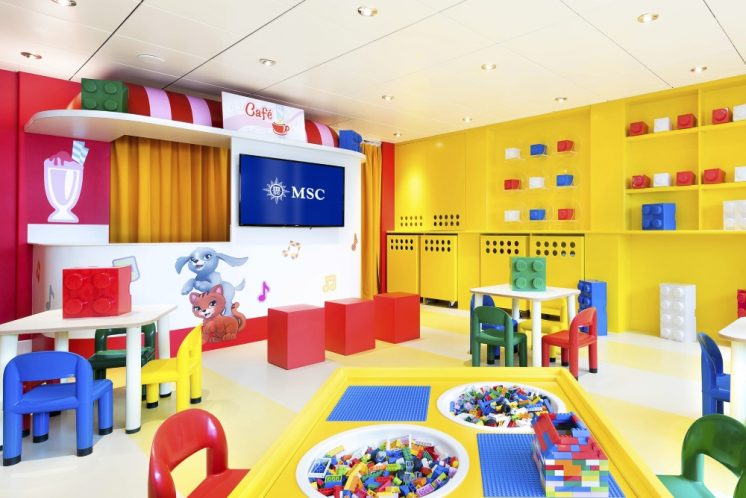 MSC Lirica Mini-Club Lego-Experience