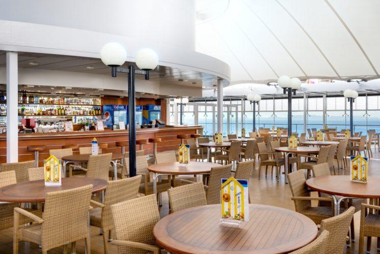 MSC Lirica Restaurant La Pergola Grill