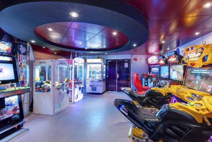 MSC Lirica Videospielhalle