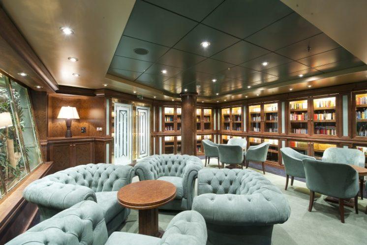 MSC Magnifica Bücherei