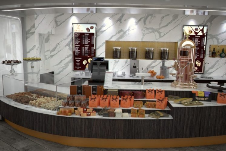MSC Meraviglia Café