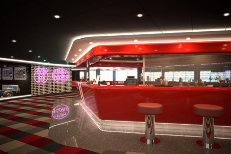 MSC Meraviglia Lounge
