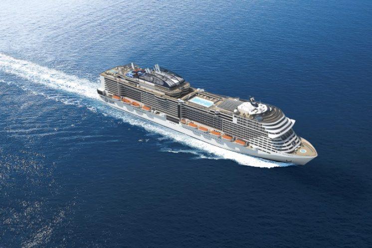 MSC Meraviglia Schiff
