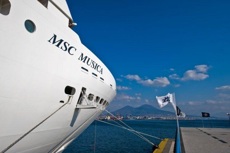 MSC Musica Hafen