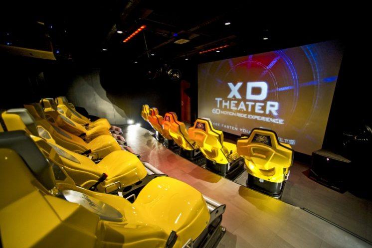 MSC Preziosa 4D Kino