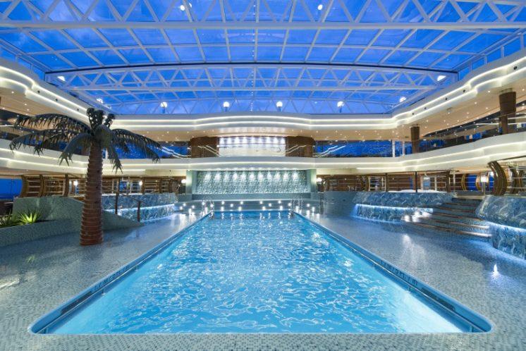 MSC Preziosa Pool
