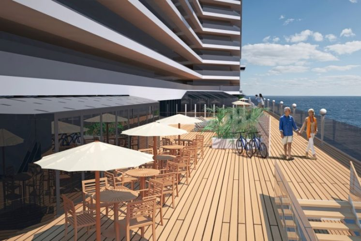 MSC Seaside Deck