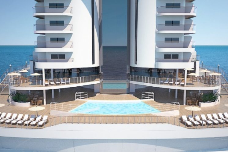 MSC Seaside Pool