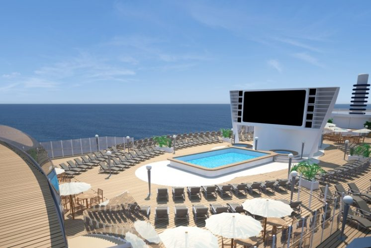 MSC Seaside Pooldeck