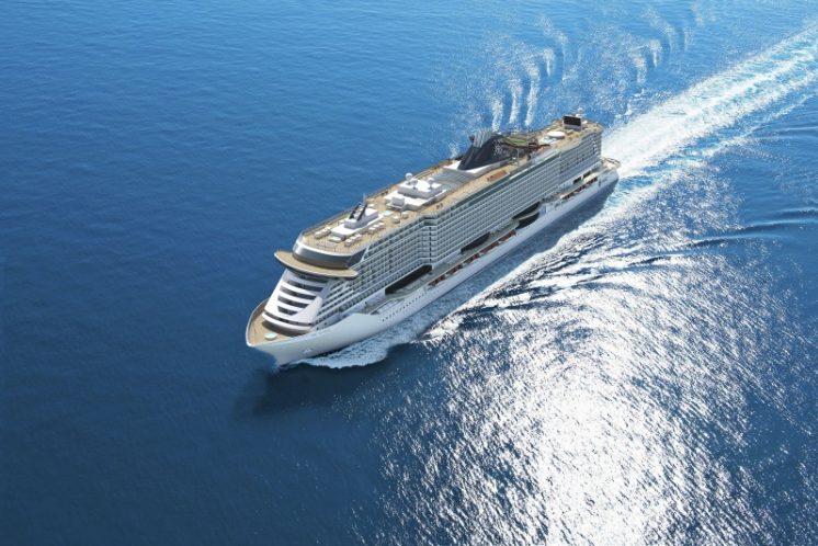 MSC Seaside Schiff außen