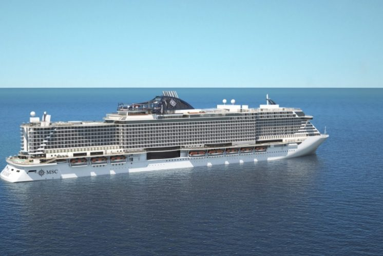 MSC Seaside Schiff