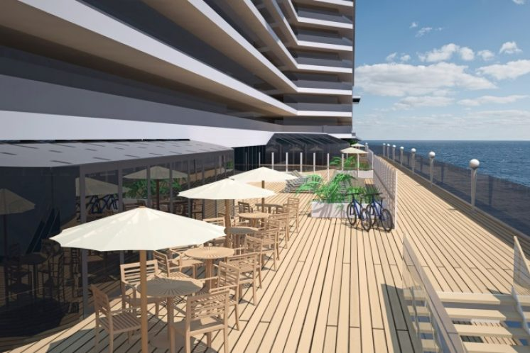 MSC Seaside Sonnendeck